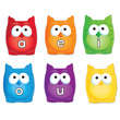 Learning Essentials™ Magnetic Vowel Owls