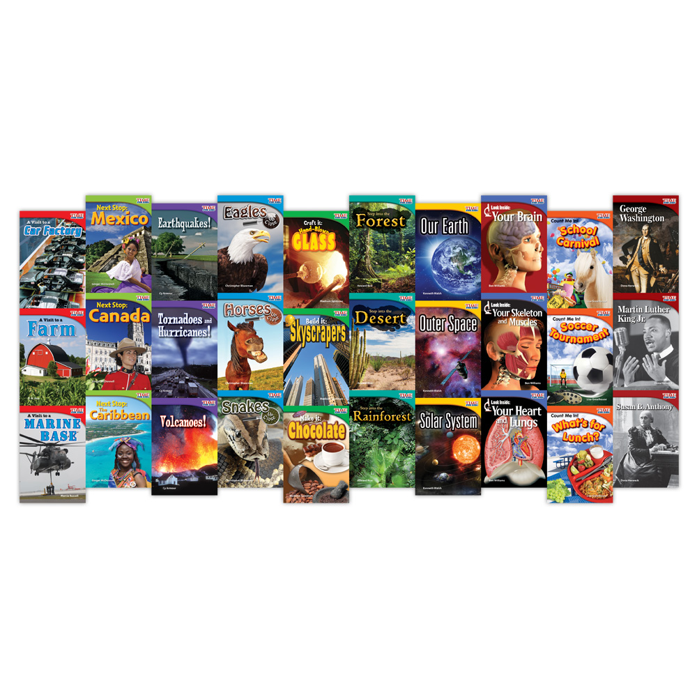 TIME FOR KIDS® Informational Text Readers - Grade 2 - 30-Book Set