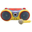 Kids Audio CD Player Karaoke Machine with Microphone