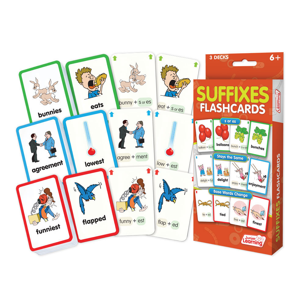 Suffix Flashcards