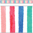 Watercolor Stripes Straight Border Trim