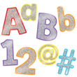 Sparkle and Shine Colorful Glitter Combo Pack EZ Letters