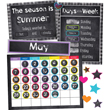 Twinkle Twinkle You're A STAR! Calendar Bulletin Board Set