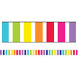Twinkle Twinkle You're A STAR! Vertical Rainbow Stripes Straight Borders