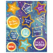 Galaxy Motivators Motivational Stickers