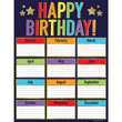 Sparkle + Shine Glitter Birthday Chart