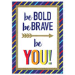 Sparkle + Shine Be Bold Be Brave Be You! Poster