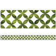 Woodland Whimsy Moss Lattice Straight Borders