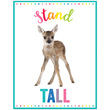Woodland Whimsy Stand Tall Chart