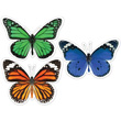 Woodland Whimsy Butterflies Cut-Outs - Extra Large
