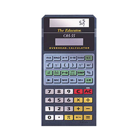 Casio® OH-55 Overhead Scientific Calculator: Emulates Casio® FX-55
