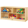 Jonti-Craft® Toddler Single Mobile Storage Unit