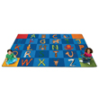 "A to Z Animals Carpet - 8'4"" x 13'4"""
