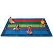 "Colorful Places Seating Carpet - 7'6"" x 12"""
