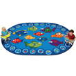 "Fishing for Literacy Carpet - 6'9"" x 9'5"""