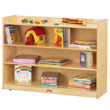 Jonti-Craft® Adjustable Mobile Straight-Shelf with Lip