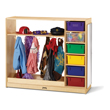 Jonti-Craft® Dress-Up Storage with Colored Tubs