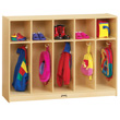 Jonti-Craft® Toddler 5 Section Coat Locker