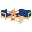 Jonti-Craft® Living Room 4 Piece Set - Blue
