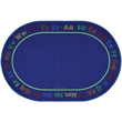 Chalk & Play Literacy Carpet - 8' x 12' Oval
