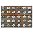 Alphabet Stones Seating Carpet - 6' x 9' Rectangle