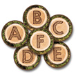 Alphabet Tree Rounds Carpet Kit