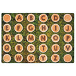 Alphabet Tree Rounds Seating Carpet - 8' x 12' Rectangle