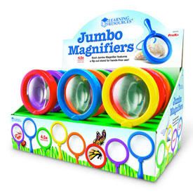 Primary Science™ Jumbo Magnifiers - Set of 12