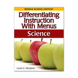 Differentiating Instruction With Menus 6-8: Science