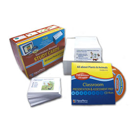 Plants & Animals Study Cards & Interactive Whiteboard CD-ROM