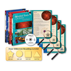 Leveled Texts for Science - Set of 3