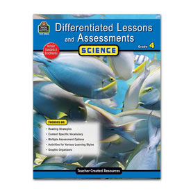 Differentiated Lessons and Assessments: Science: Gr. 4