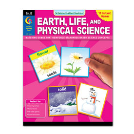 Science Games Galore! Earth, Life & Physical Science: Gr. K