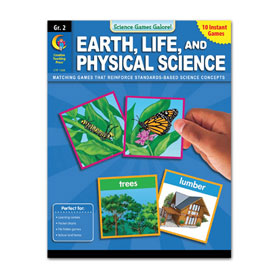 Science Games Galore! Earth, Life & Physical Science: Gr. 2