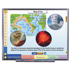 Volcanoes Multimedia Lesson - Single-User License