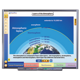 Earth's Atmosphere & Weather Multimedia Lesson - Site License