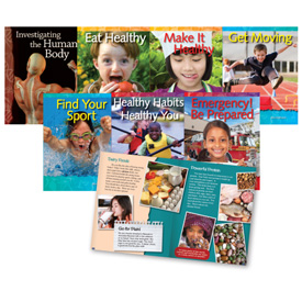 Healthy You Book Set: Grades 3-5