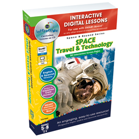 Space Travel & Technology Interactive Whiteboard Digital Lesson Plans