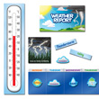 Weather Report Mini Bulletin Board Set