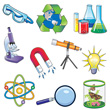 Science Pics Magnet Set