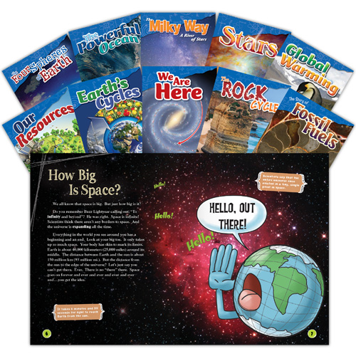 Let's Explore Earth & Space Science 10-Book Set - Grades 4-5