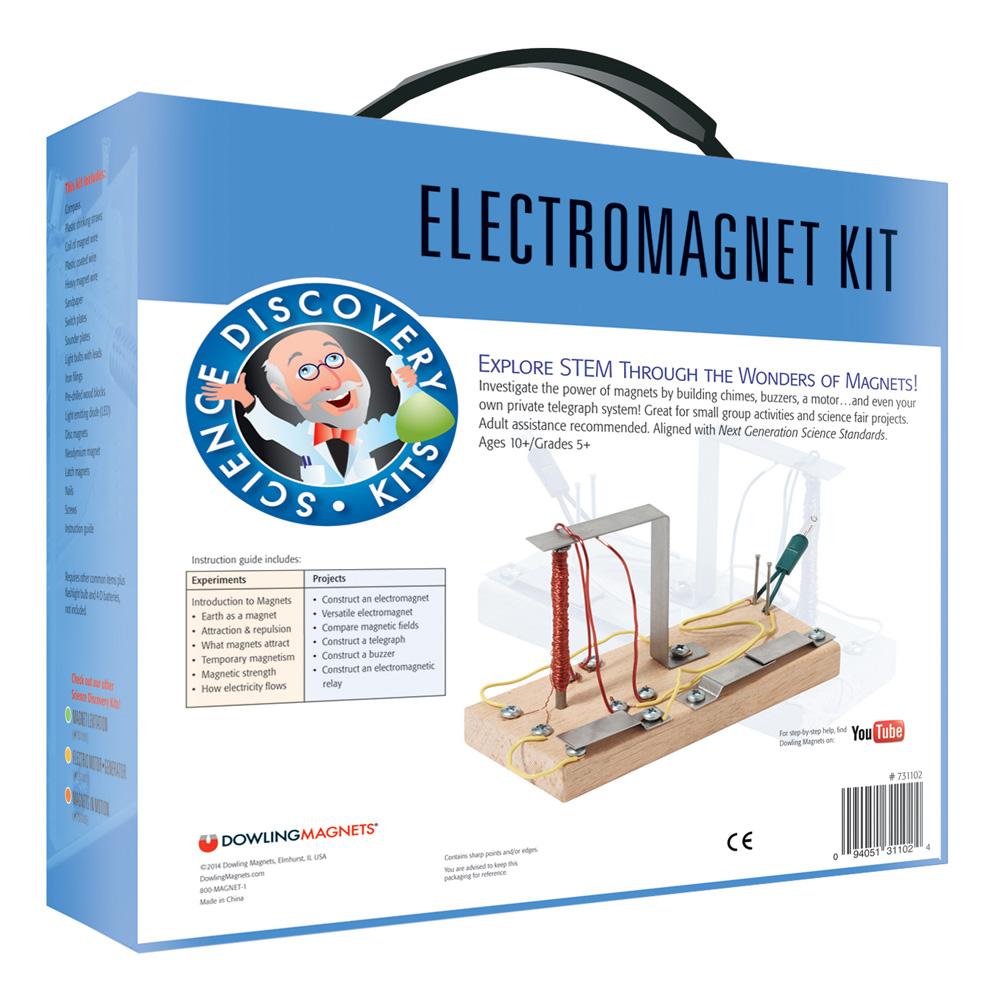 Electromagnet Science Kit Stem Eai Education Snap Circuitsr Electromagnetism Storespacecom