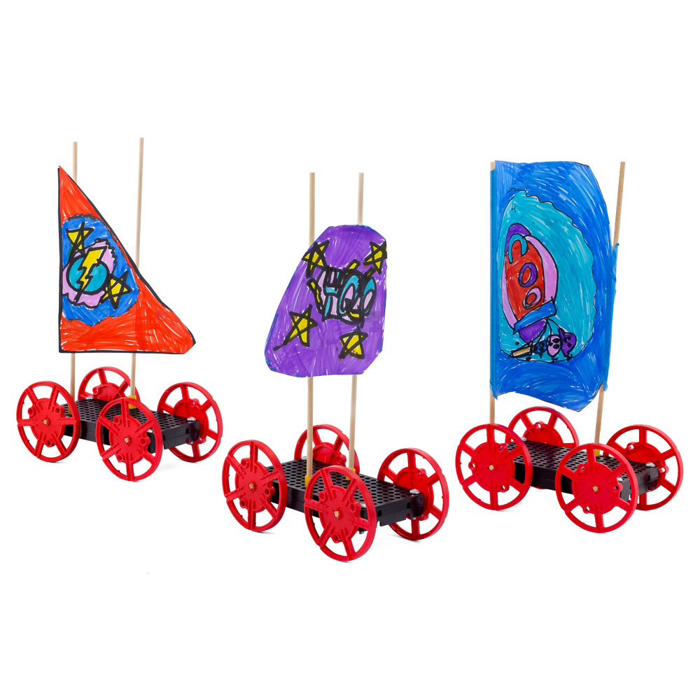 TeacherGeek Sail Car Activity - 10 Pack