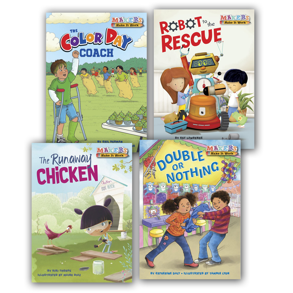 Makers Make It Work™ Books - Set of 4 - STEM | EAI Education