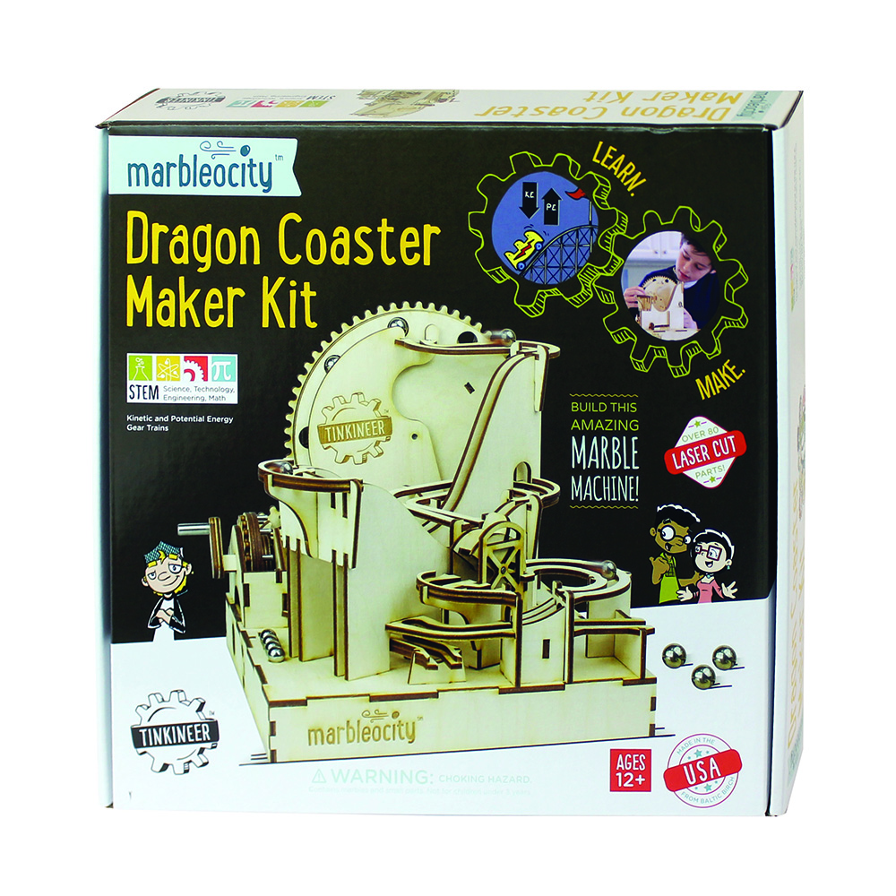 Marbleocity™ Dragon Coaster Maker Kit