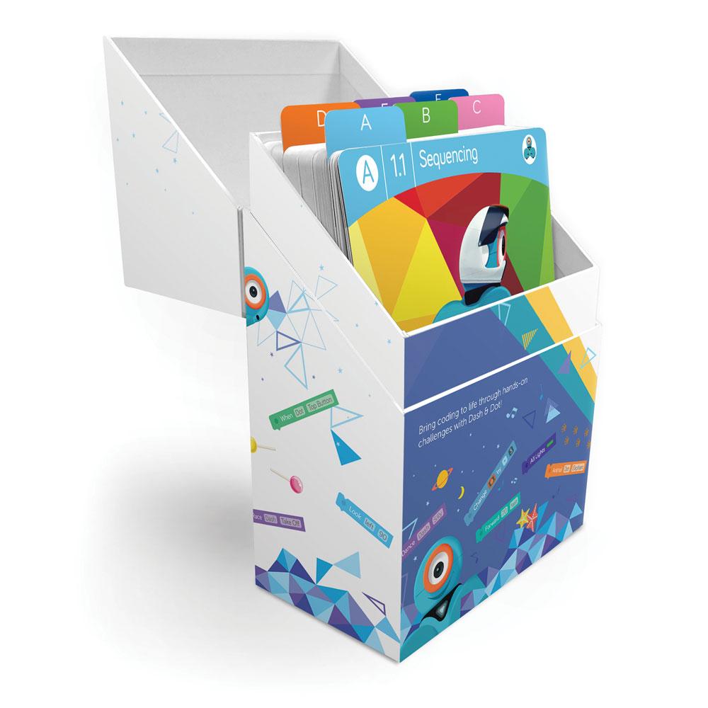 Wonder Workshop Learn To Code Challenge Card Box Set Stem Eai