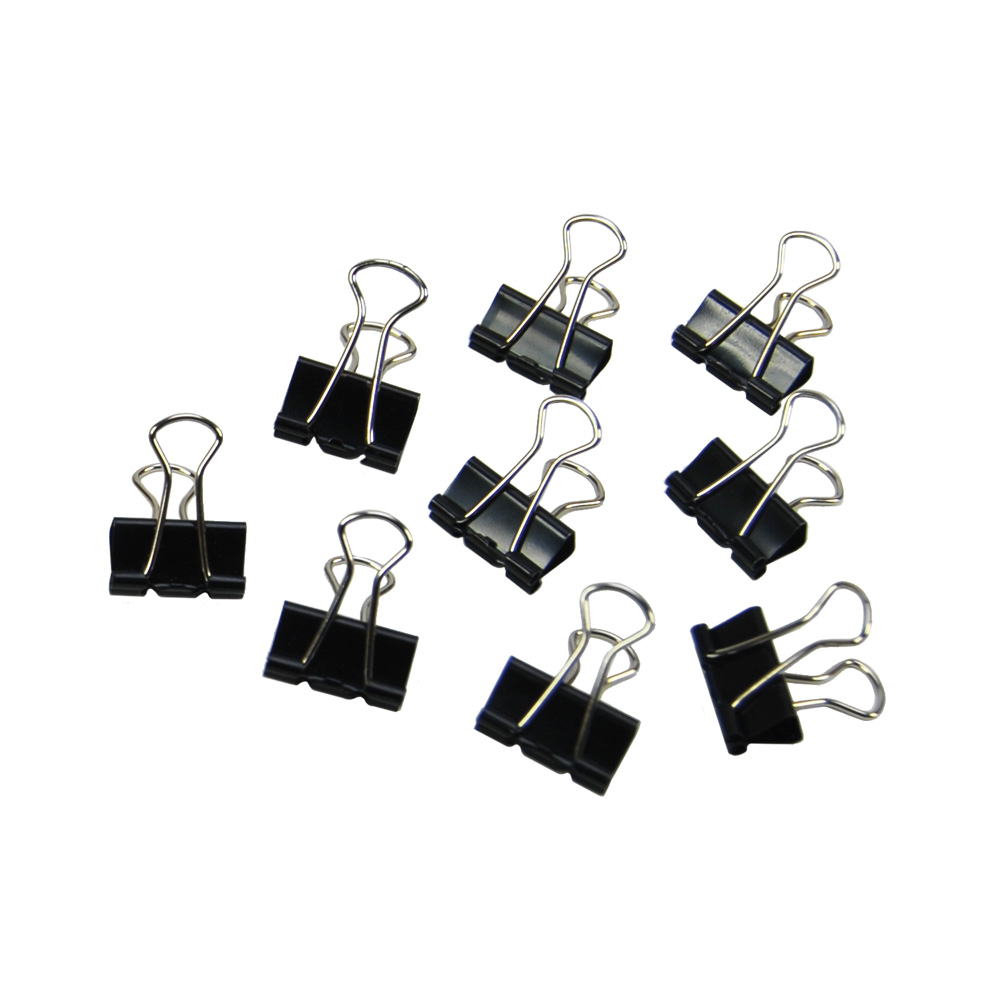 binder clips  small - pack of 12
