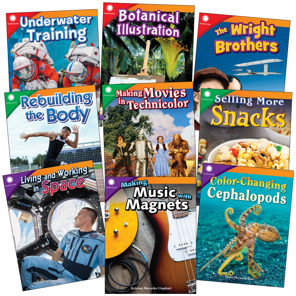 Smithsonian Informational Text: Pushing the Limits 9-Book Set - Grades 3-5