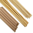 Wooden Dowels - Assorted Sizes: Set of 290