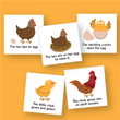 Magnetic Whiteboard Graphics: Life Cycle: Chicken